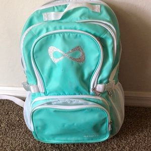Mint color Nfinity backpack!!